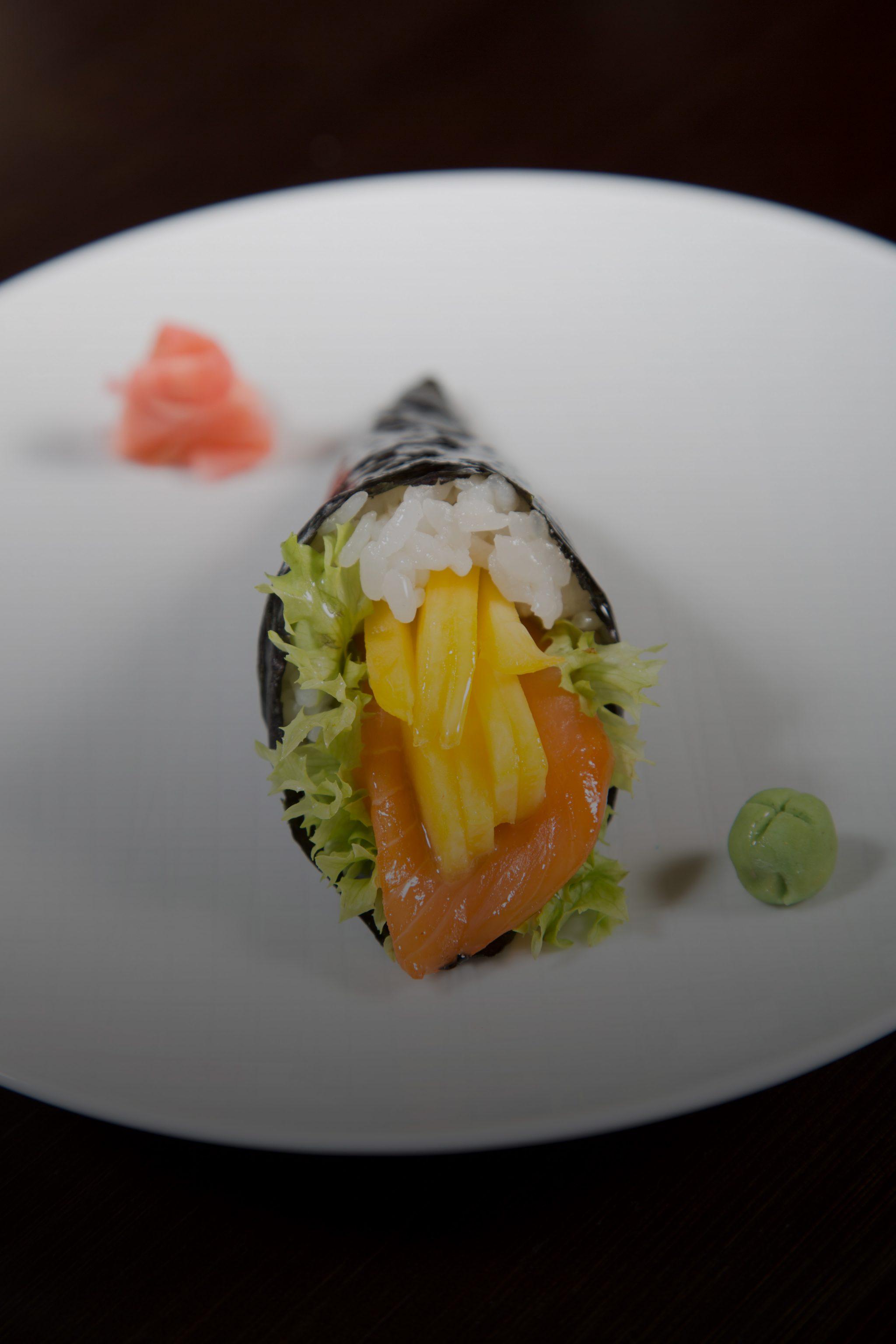 Sumo Rolls, Inari Sushi und Temaki Sushi